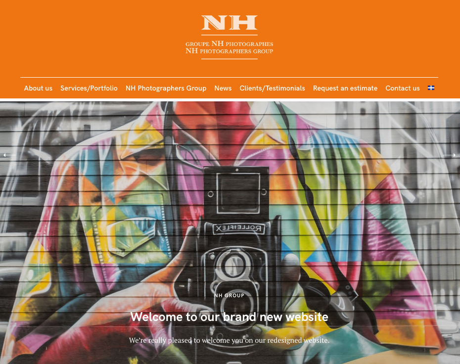 NH Photographers Group homepage