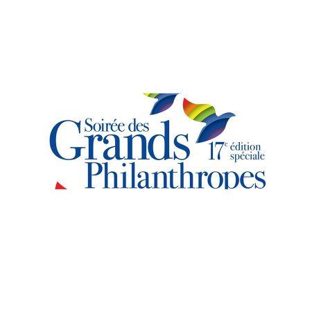 Logo de la soirée des Grand Philanthropes