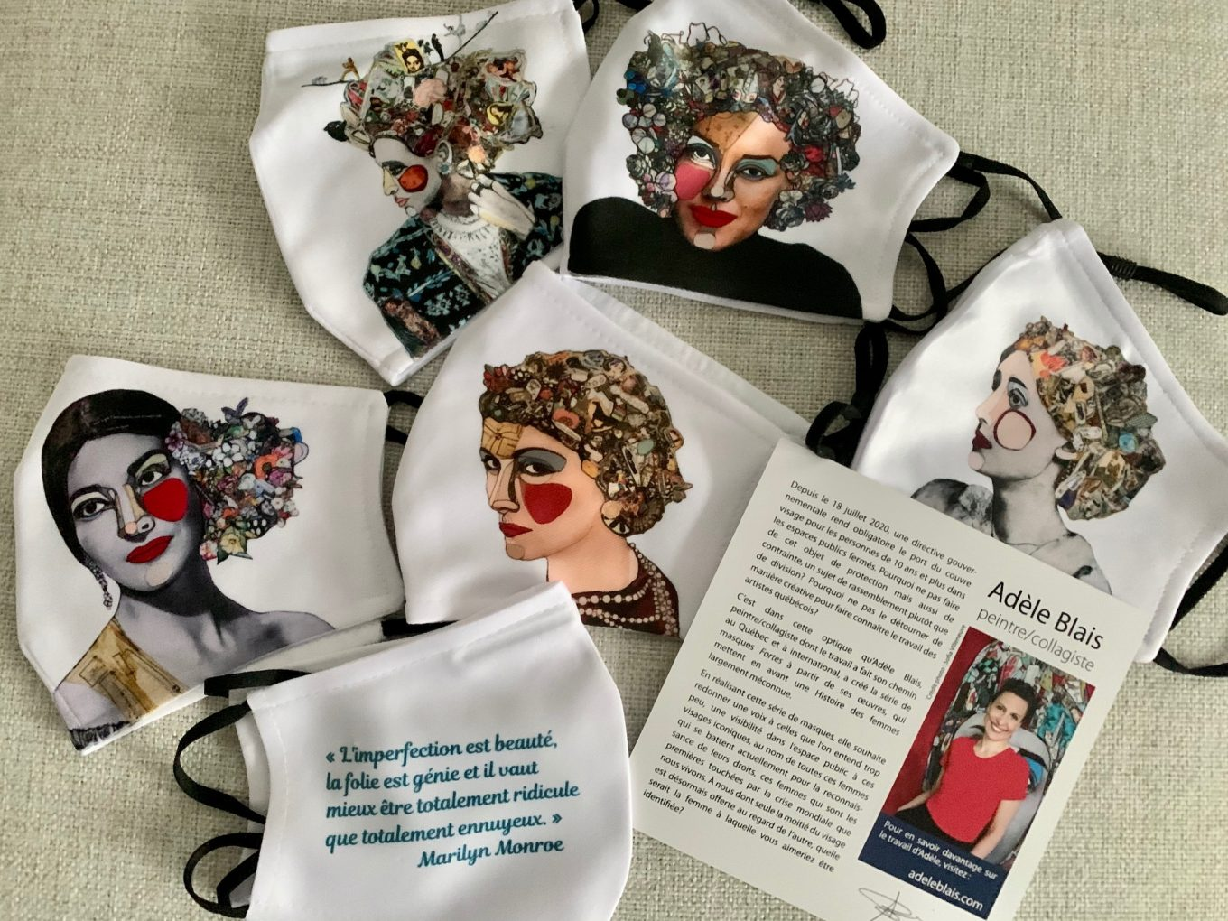 Masques collection Femmes fortes
