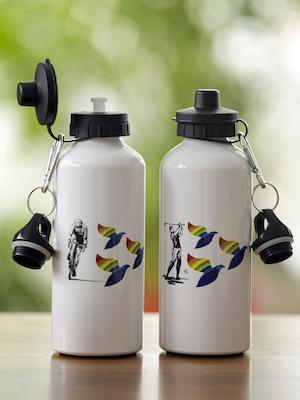 bouteilles d'eau en aluminium2